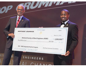 Northrop Grumman Gives $2 Million Grant to National Society of Black Engineers