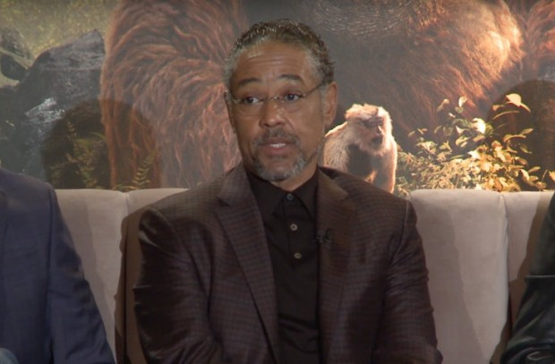 Giancarlo Esposito, the voice of Akela, the great lone wolf.