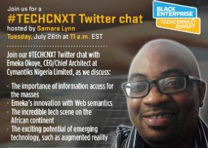 [Recap] #TECHCNXT: Twitter Chat with Emeka Okoye