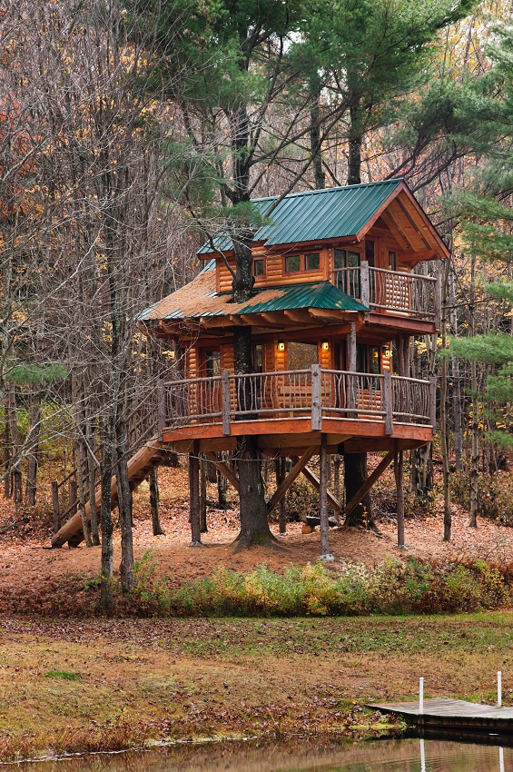 Treehouse at Moose Meadow Lodge