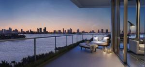 Miami Beach Multi-View, Oversized, Wrap-Around Balcony_T.Bernie