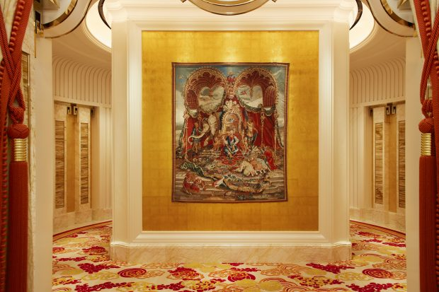 Wynn Palace Art The Audience of the Emperor