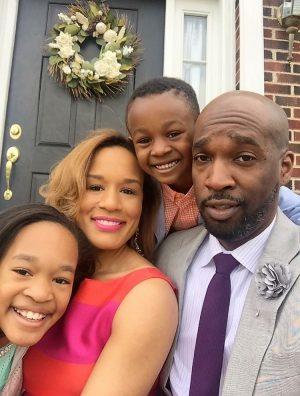 Yvonne Bryant enjoying family