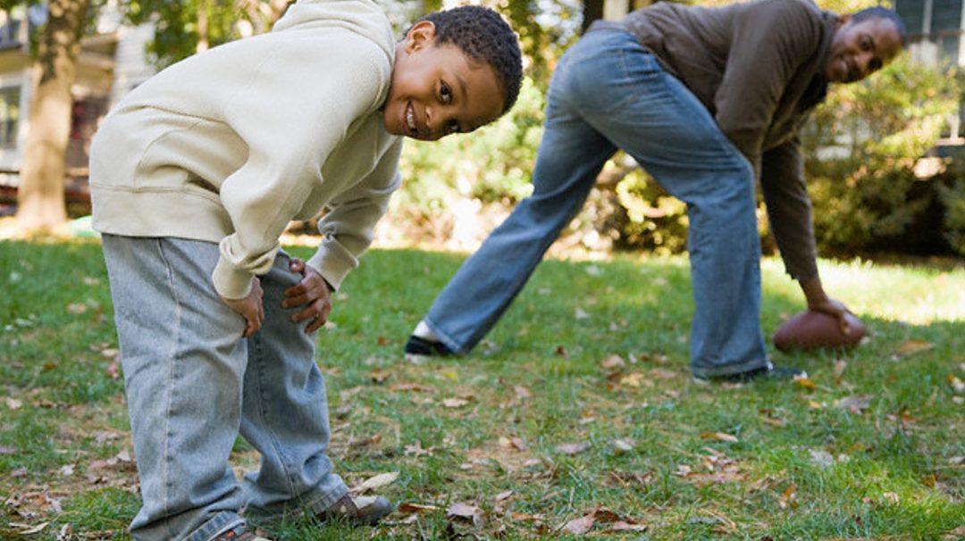 BE Modern Man: Fun Ways to Sack Childhood Obesity