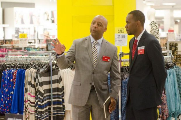 JCPenney CEO Marvin Ellison in the Frisco, Texas, store (Photo: Jesse Hornbuckle)