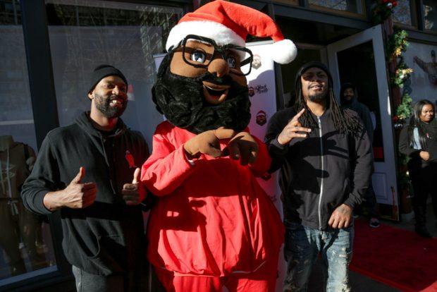 Baron Davis, Black Santa, Marshawn Lynch