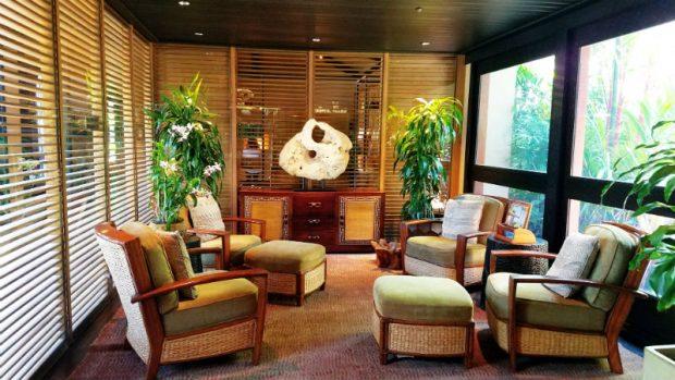 Four Seasons Reception Area