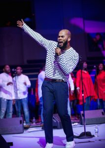 JJ Hairston performs in Landover, MD. Photo by Bird's Eye Photography.