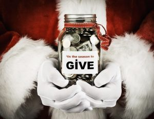 'Tis Better to Give, But Don't Get Taken