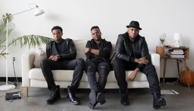 Jonathan McReynolds, Travis Greene and Anthony Brown. Photo courtesy of Live Nation.