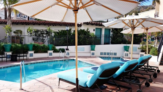 Catalina Spa pool
