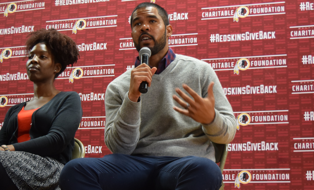 Character Counts for Former NFL Running Back Evan Royster