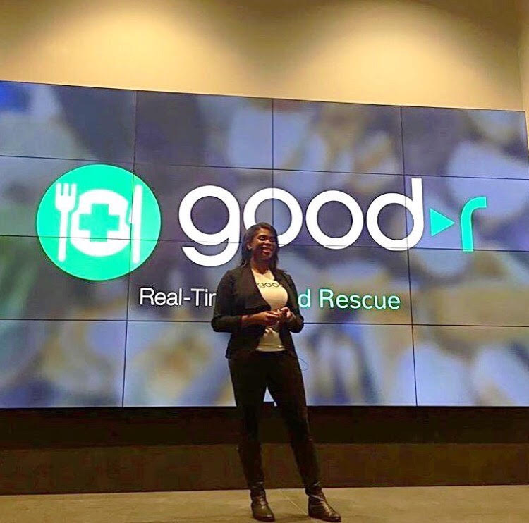 Jasmine Crowe a black female social entrepreneur is the founder of The Goodr App.