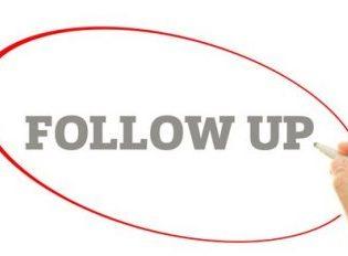 Follow Up