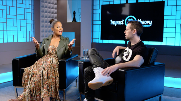 Laila Ali and Tom Bilyeu
