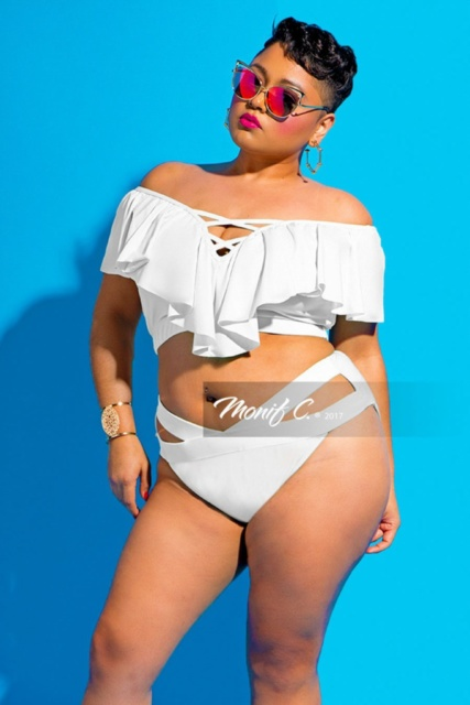 41c65d14a63b7 Plus-Size Swimwear by African American Designers