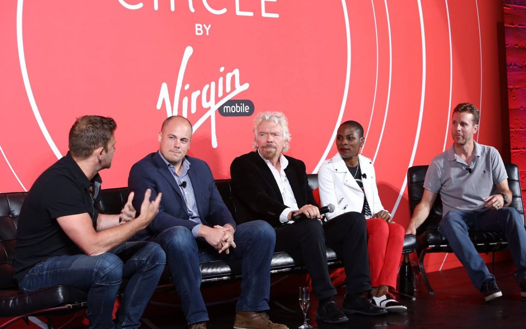 Sir Richard Branson Unveils Virgin Mobile's New Apple Partnership