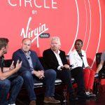 Chase Jarvis, Bo Ghirardelli, Sir Richard Branson, Luvvie Ajayi, Jamie Siminoff (Image: Facebook/Virgin Mobile USA)