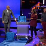 The Unique Seat creators Shirley and Addison Hayden with Steve Harvey on Steve Harvey's Funderdome