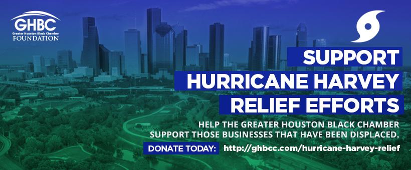 Houston Black Chamber Establishes Relief Fund for Harvey-Ravaged Black Businesses
