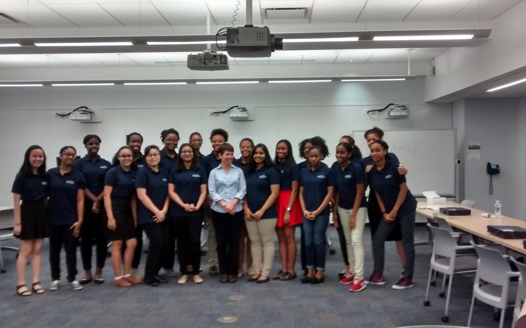 Columbia Girls in STEM Initiative Inspires Young Women to Achieve in STEM Careers