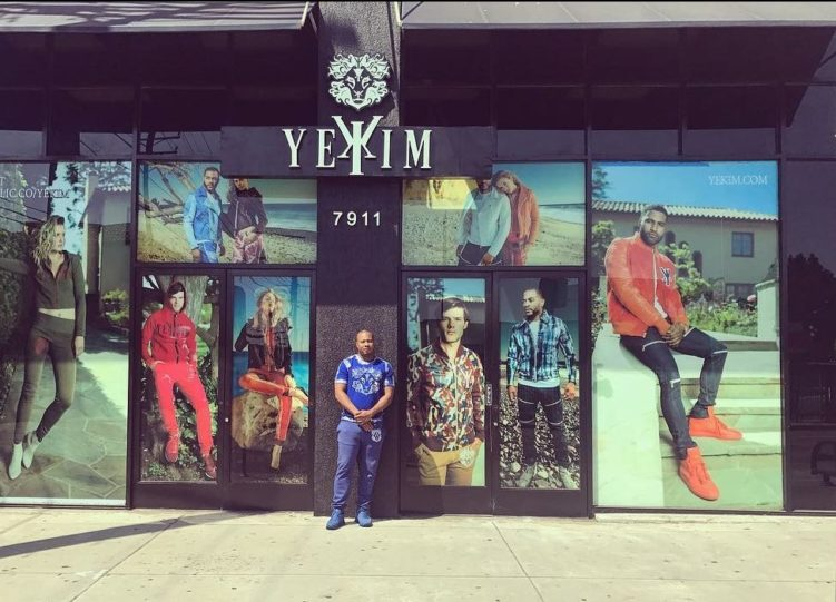 YeKim CEO Martez Malone at the Flagship Store in Los Angeles