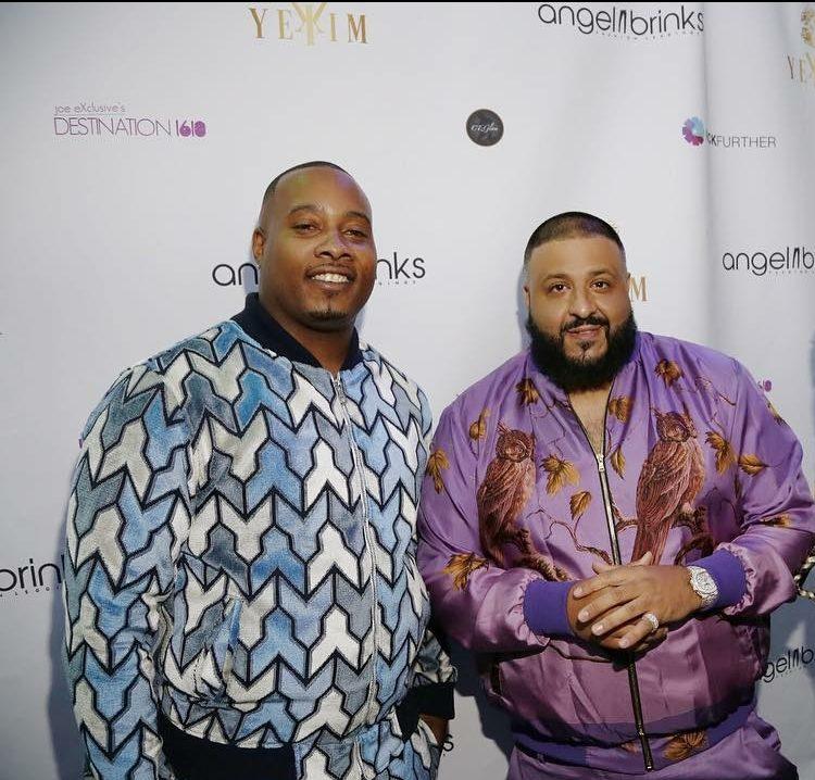 YeKim CEO Martez Malone with DJ Khaled