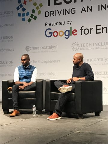 DeRay Mckesson and Wayne Sutton (Image: File)