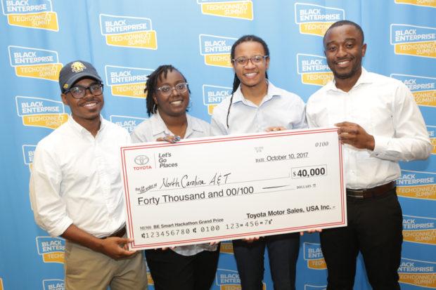 NCA&T Hackathon Winners (Image: File)