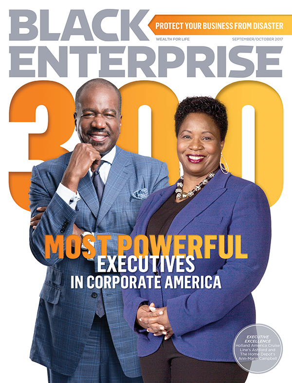 Black Enterprise magazine September/October 2017 issue