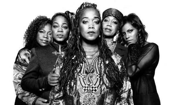 Malcolm X's Daughters L to R: Qubilah Shabazz, Gamilah Lumumba Shabazz Malaak Shabazz, Attallah Shabazz, Ilyasah Shabazz (Image: malcolmxlegacy.com)