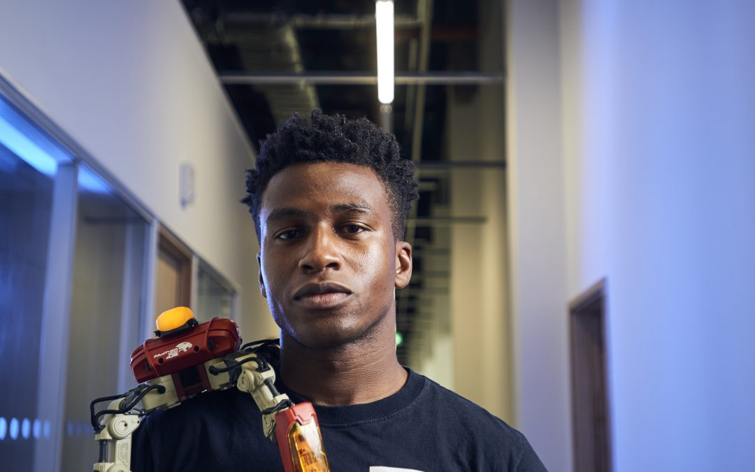 This Young Black Robotics Engineer and CEO Just Landed a Sweet Deal with Apple