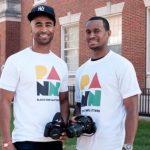 Quincy Ewell and Darren Harris (Image: PANNtv)