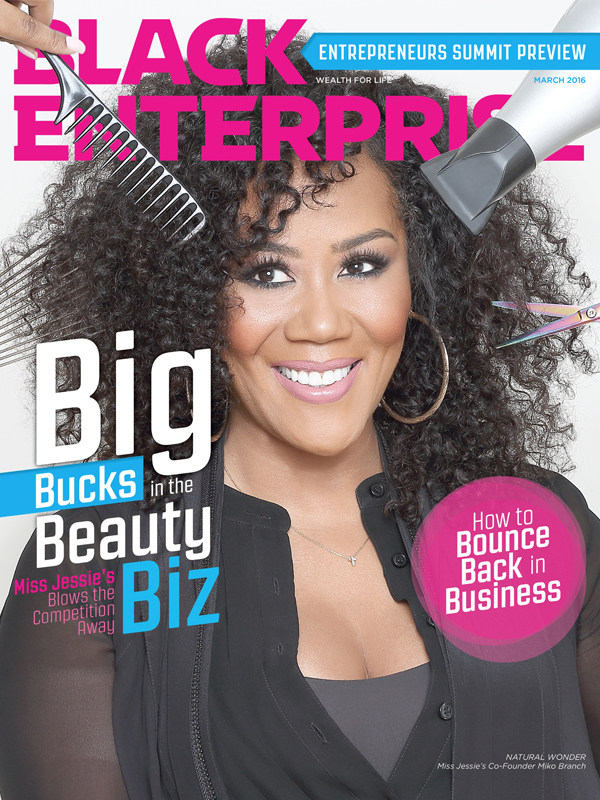 Black Enterprise magazine March 2016 issue