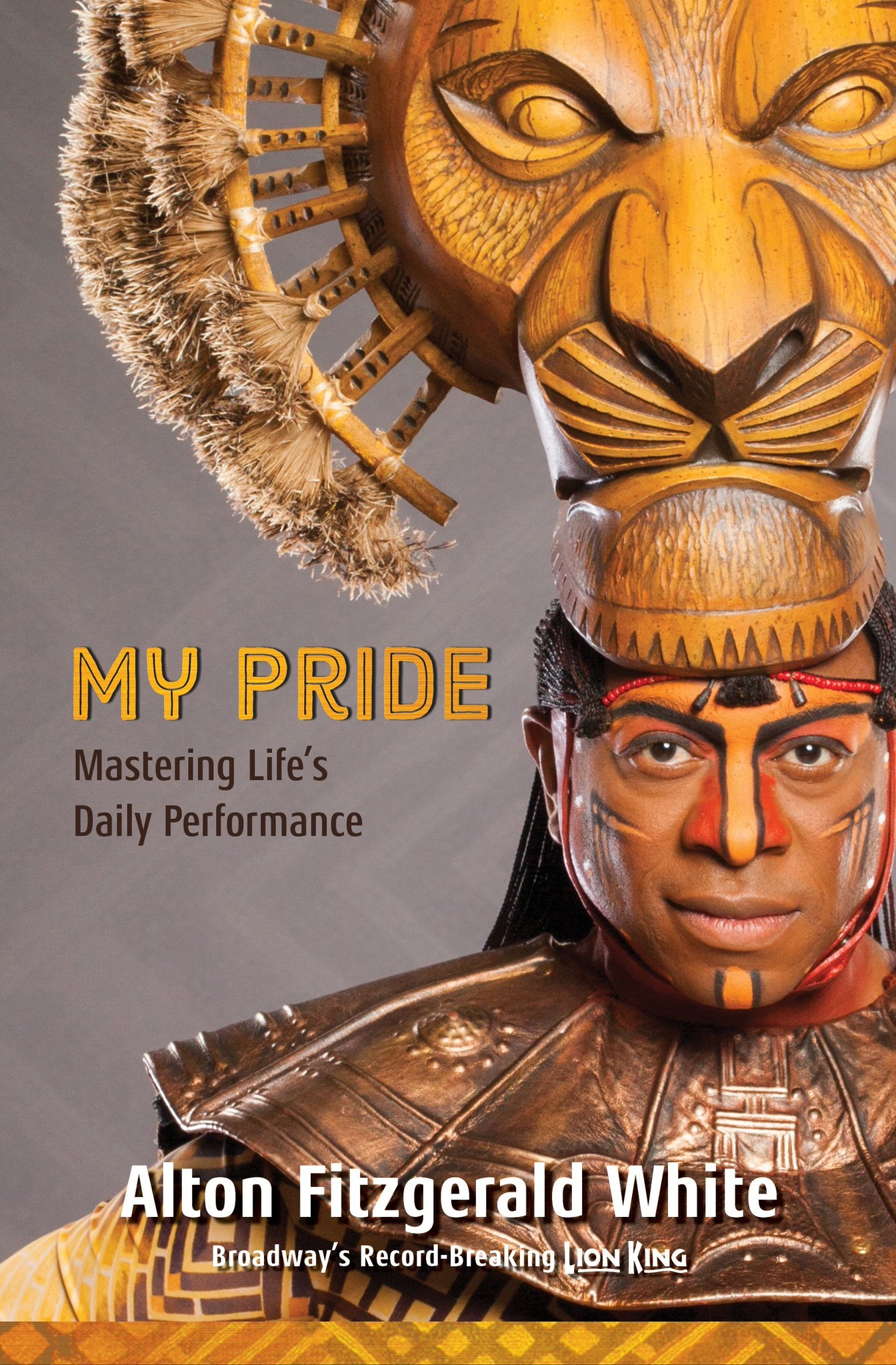 tips to perform better from The Lion King Alton Fitzgerald White