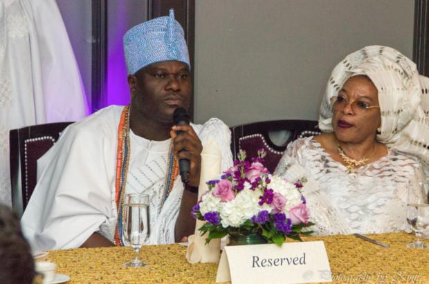 King, Adeyeye Enitan Ogunwusi Ojaja II and Mama Diaspora (Image: Kimi Alli)