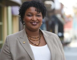 Stacey Abrams Election Day advice