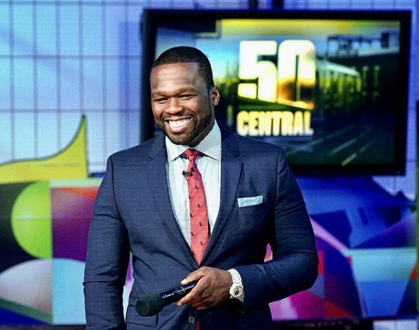 50 Cent Signs New Lucrative Business Deal With Starz