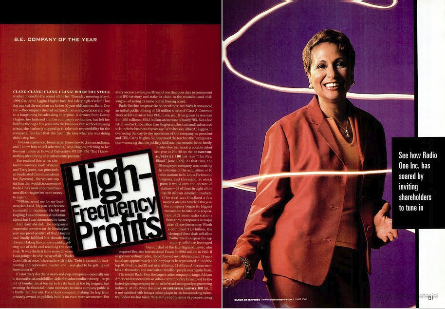 45 Great Moments in Black Business – No. 20: First Black Woman To Take Company Public On NASDAQ