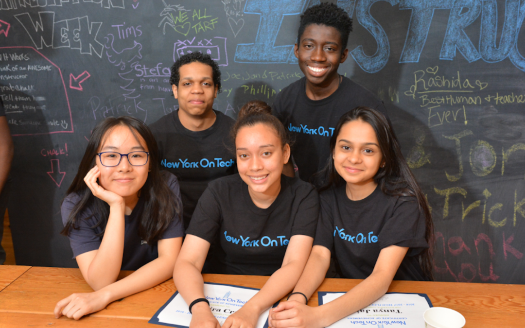 New York on Tech Accelerates and Incubates Talent of Underrepresented Students