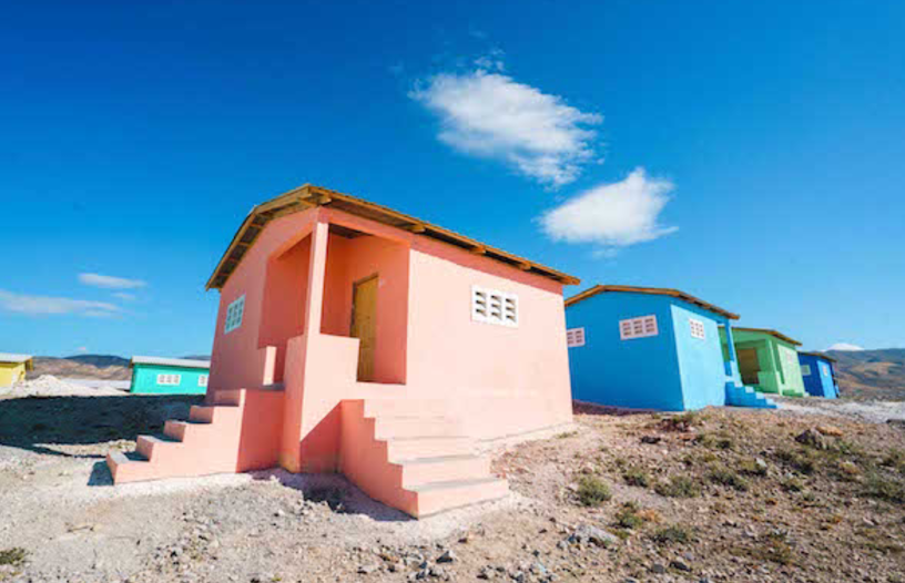 A community built by New Story in Minotrie, Haiti (Image: New Story)