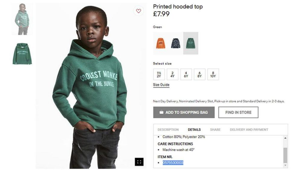 Black Artist Remixes Racially Insensitive H&M Ad