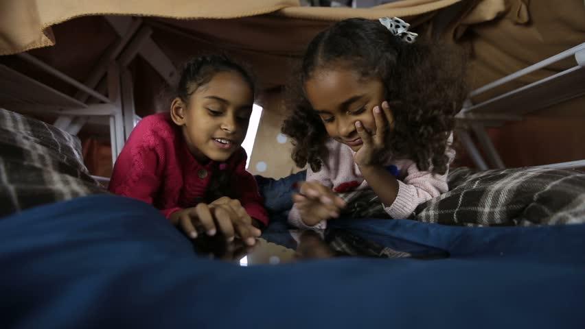 Black Children on iPad (Image: Shutterstock)