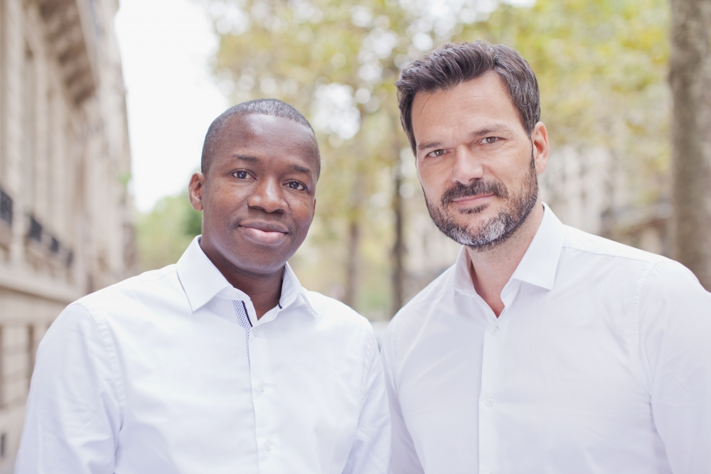 Partech co-founders, Deme Tidjane and Collon Cyril (Image: ParTech)
