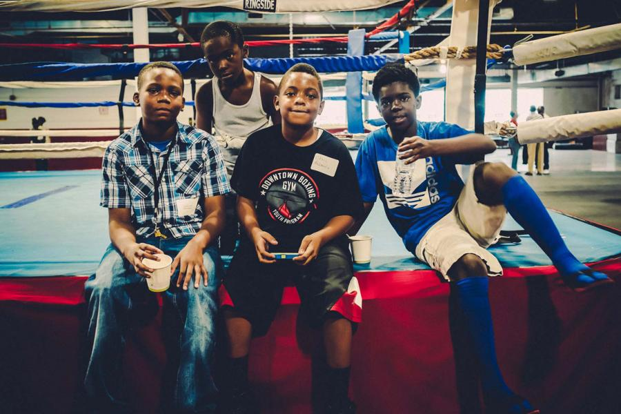 Detroit's Downtown Boxing Gym Students See Their Math Skills Soar