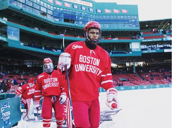 Jordan Greenway Is First African-American On USA Olympic Hockey Squad