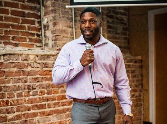 LawnTap's founder, Wilkinson Egwu