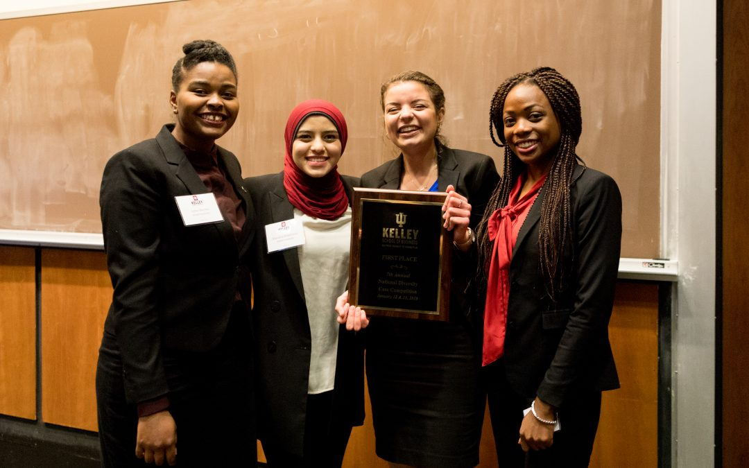 All-Female Team Wins at Nation's Largest Diversity Case Competition