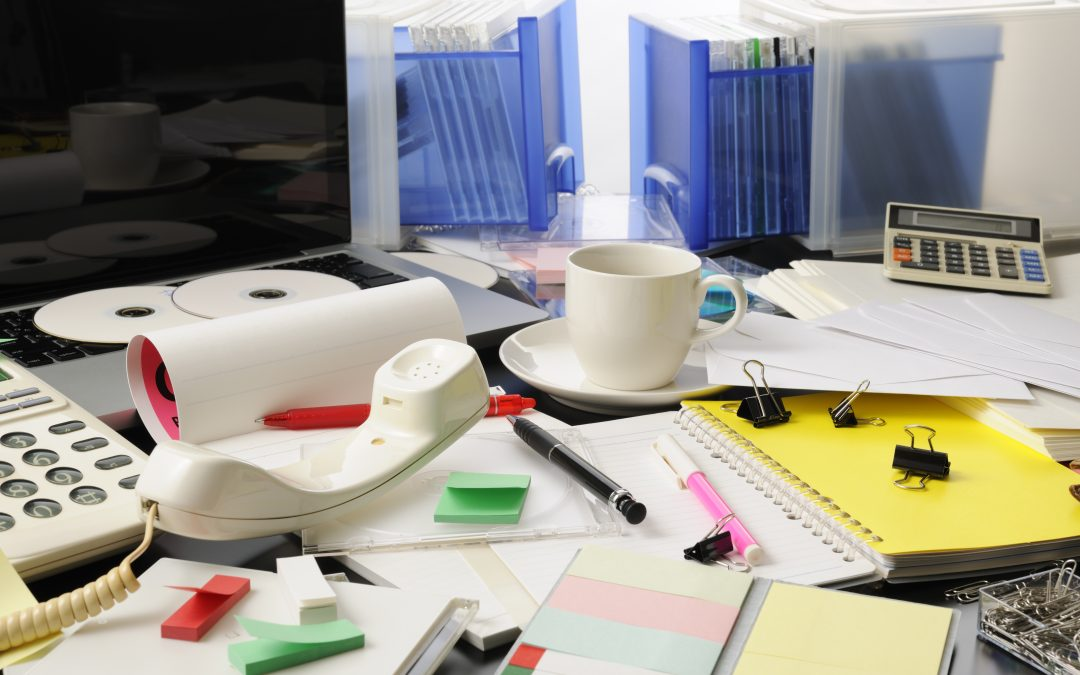 Want To Keep Your Boss Happy? Clean Your Desk