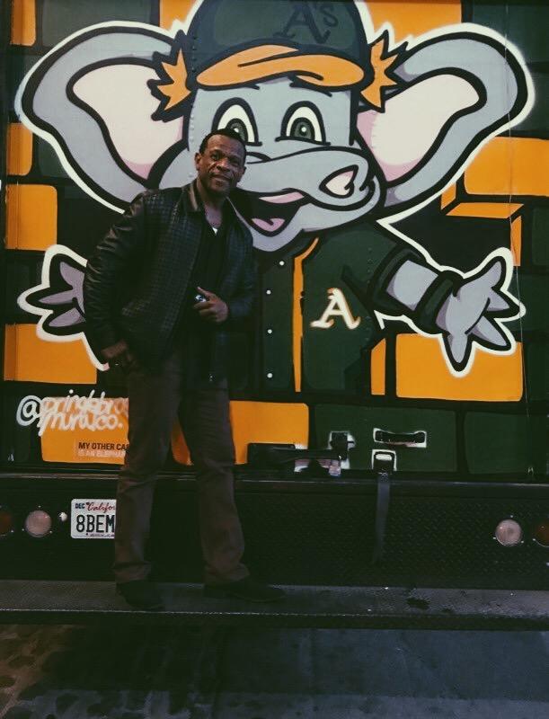 Legendary Oakland A's player Rickey Henderson (Image: Oakland A's)